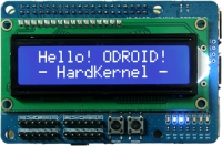 ODROID 16x2 LCD + IO Shield
