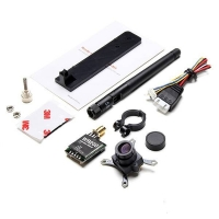 FIG pass through the machine FPV 5.8G 200MW emitter CMOS 700TVL 148 degree wide-angle lens SONY