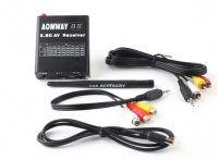 Aomway DVR 5.8GHz 32ch Video Receiver with Built in Video Recorder
