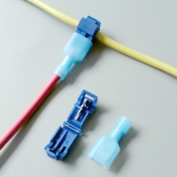 کانکتور اتصال سریع T شکل برای سیم 0.5 تا 2.5 میلی متر مدل T2