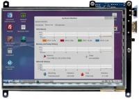 نمایشگر 7اینچ HDMI رزولوشن 1024x600 مولتی تاچ خازنی مدل ODROID-VU7 Plus