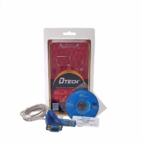 DTECH DT-5011 USB 2.0 TO RS232 CABLE FTDI CHIP