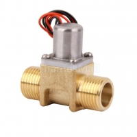 DC3.6V Water Flow Control Pulse Electromagnetic Brass Parallel Solenoid Valve