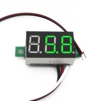 ولت متر سه رقمی دیجیتال 0.36 اینچ DC 0V-30V سبز