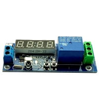 Digital Clock Temp Timer Relay Module/Cycle Delay/Timing/Self-lock Switch Controllerِ