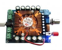 DC 12V TDA7850 4 Channel 50W*4 HIFI Car stereo Audio Amplifier Board + Fan