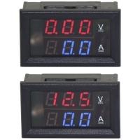 سنسور نمایشگر دیجیتال جریان و ولتاژ 0-100 ولت 10 آمپر