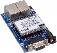 ماژول سریال به اترنت UART WIFI HLK-RM04 به همراه بورد راه اندازی