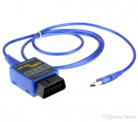 کابل ارتباطی ECU خودرو MINI ELM327 USB Vgate OBD2