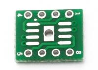 مبدل آی سی SOP8  به DIP8 با thermal pad