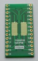 مبدل آی سی SOP28  به DIP28 روکش طلا