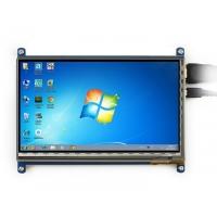 نمایشگر 7 اینچ IPS با تاچ خازنی رنگی 1024x600 با ورودی HDMI مدل C مولتی سیستم محصول Waveshare