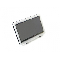 نمایشگر 7 اینچ رنگی با تاچ خازنی 800×480 با ورودی HDMI به همراه کیس مدل B محصول Waveshare