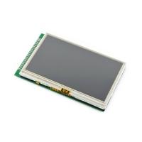 نمایشگر 4.3 اینچ (A) رنگی با تاچ مقاومتی 480x272  محصول Waveshare