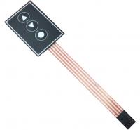 صفحه کلید پلی کربنات 3 کلید 36x55mm
