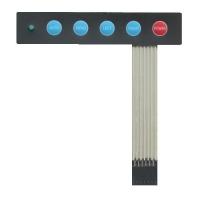 کیبورد ماتریس پلی کربنات 5 کلیده
