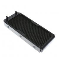 رادیاتور آلومینیومی 2 فن 18 پایپ 273x119x32mm