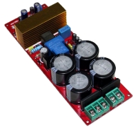IRS2092 Class D amplifier board (dual rectifier with power protection)
