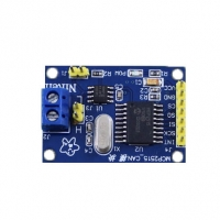 MCP2515 CAN bus module TJA1050 receivers SPI protocol 51 SCM C7A1