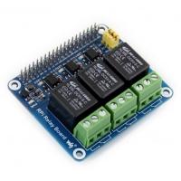 بورد رله 3 کانال برای رسپبری پای محصول WaveShare