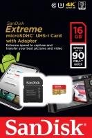 حافظه SanDisk Extreme 16GB مدل SDSQXNE-016G-GN6MA