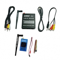 Aomway 5.8G 1W 1000mW TX RX Set with DVR