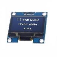 ماژول نمایشگر OLED سفید 1.3اینچ با رابط I2C سایز 128x64