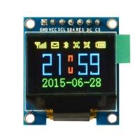 ماژول نمایشگر OLED تمام رنگی 0.95اینچ با رابط SPI سایز 96x64