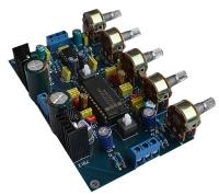 LM4610 & NE5532 Pre Amplifier Module