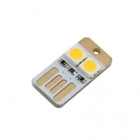 ماژول چراغ LED کوچک USB دارای دو LED با نور گرم