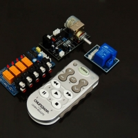 Motorized Volume and Signal Selection Remote Control Kit