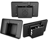 Raspberry Pi and LCD Touch Screen Case, Black RS- Component