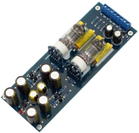"""6J1 Horizontal tube preamp board """