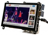 ODROID-VU5 : 5inch 800x480 HDMI display with Multi-touch