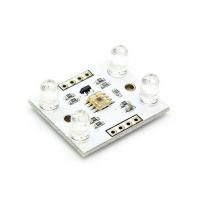 ماژول سنسور رنگ با آی سی TCS3200 با چهار LED سفید روشن کننده سطح محصول CJMCU