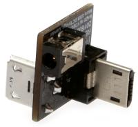 پل تغذیه MicroUSB برای نمایشگر VU7 و VU7 Plus