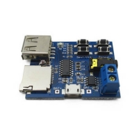 MP3 Player Board Supporting USB & MicroSD Memory