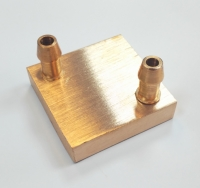 4X4 Cupper Water Cooling Block
