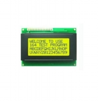 4X20 Character LCD Yellow Green I2C