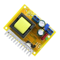 High Voltage DC-DC Boost Converter 8V-32V to ±45V-390V Adjustable ZVS Capacitor Charging Power Supply Module