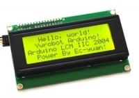 ماژول نمایشگر 16x4 کاراکتری سبز با رابط I2C