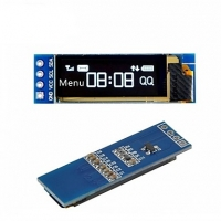 0.91inch 128X64 OLED Display Module WHITE I2C