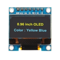0.96inch 128X64 OLED Display Module WHITE/Blue SPI