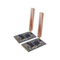 100mW RF wireless repeater module Small size Embedded TTL 433.92mhz Radio network module