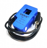 SCT-013-60 Black 3.5mm Output Cord Non-invasive AC Current Sensor Blue 60A 1V