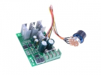 DC 6-60V 30A 2000W PWM DC Motor Pump Speed Regulator High Power Speed Controller