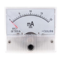 Analogue Ampermeter 85C1 20mA