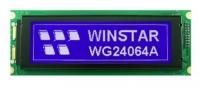 نمایشگر گرافیکی Winstar  آبی 64*240 مدل WG24064A-TMI-TZ