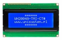 نمایشگر گرافیکی Winstar  آبی 4*20 مدل WH2004A-TMI-CT