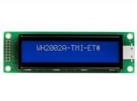 نمایشگر گرافیکی Winstar  آبی 2*20 مدل WH2002A-TMI-ET#